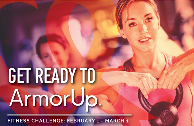 ArmorUp for LIFE Sport & Health & Brambleton Fitness Challenge